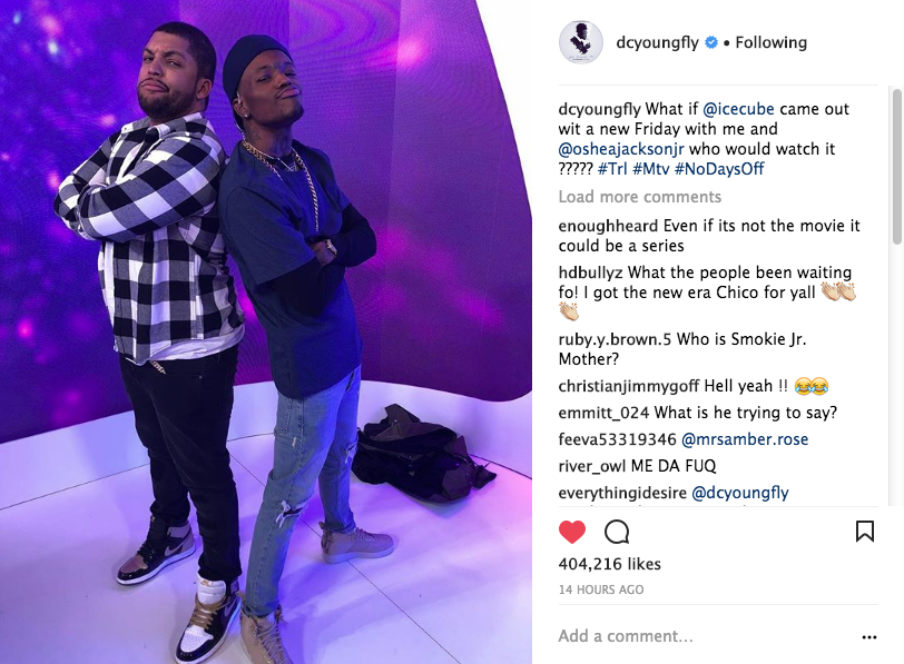 Oshea Jackson Jr. & DC Young Fly Tease New 'Friday' Movie [VIDEO]
