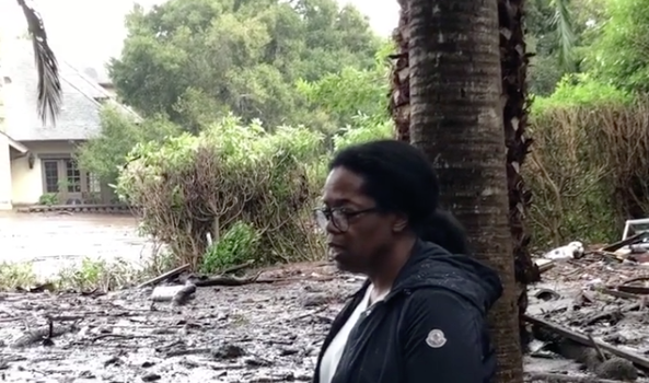 Oprah Property Damaged By Deadly California Mudslides [VIDEO]
