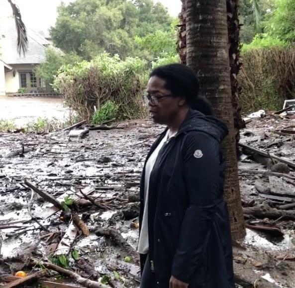 Oprah Property Damaged By Deadly California Mudslides [VIDEO]