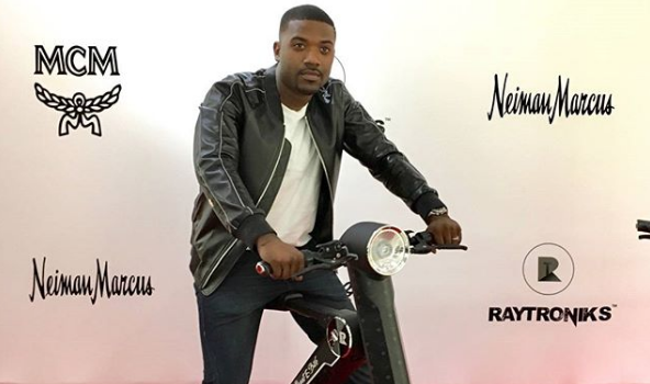 Ray J Accused of Stealing Scooter Bike Idea, Sued For $30 Mill
