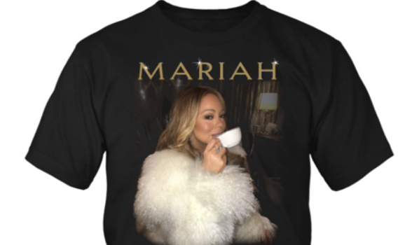 Mariah Carey Launches T-Shirt Merch Inspired By Tea Meme