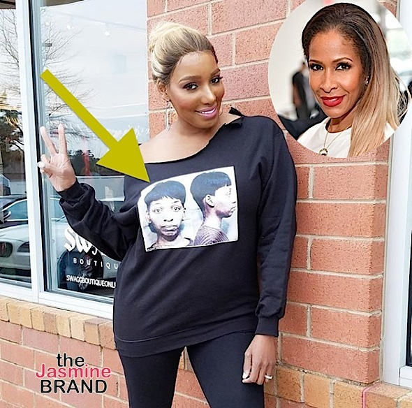 NeNe Leakes Taunts Sheree Whitfield w/ Mugshot Shirt