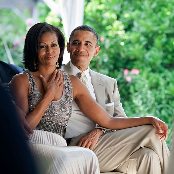 Barack Obama Pens Sweet Message To Michelle Obama: I love you more each day.