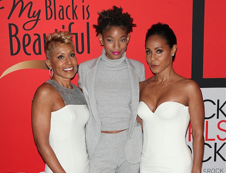 Jada Pinkett Smith, Daughter Willow & Mother Snag New Facebook Talk Show
