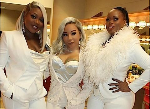 Xscape Makes 1st Public Appearance w/o Kandi Burruss, Reality Star Kicks Off Broadway Tour