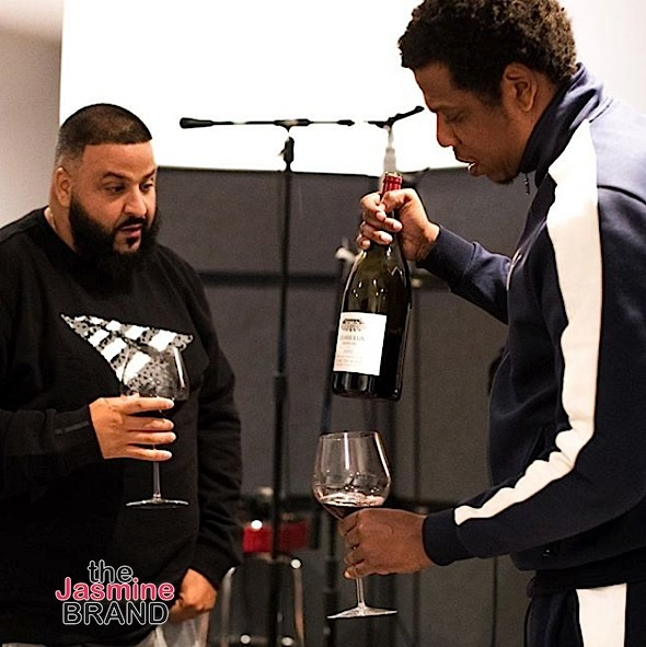 Dr. Dre & Eminem Hit the Studio + Jay-Z & DJ Khaled's Red Wine Chronicles