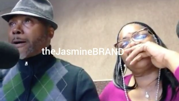 "Mo'Nique's Husband Bursts Into Tears, Defends Comedian Calling Him ""Daddy"" [VIDEO]"
