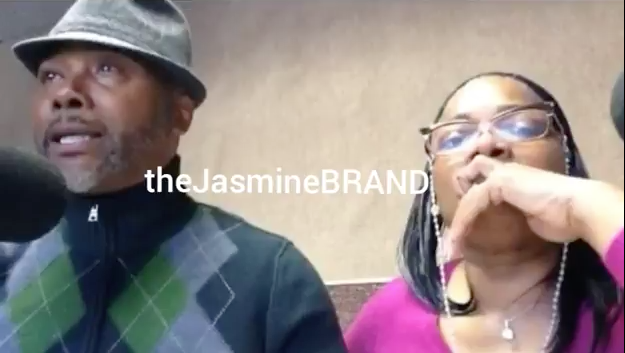 "Mo'Nique's Husband Bursts Into Tears, Defends Comedian Calling Him ""Daddy"""
