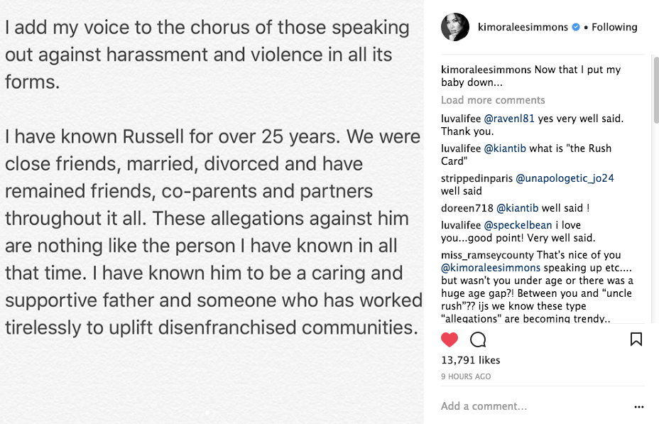 Kimora Lee Simmons Reacts To Russell Simmons Rape Allegations