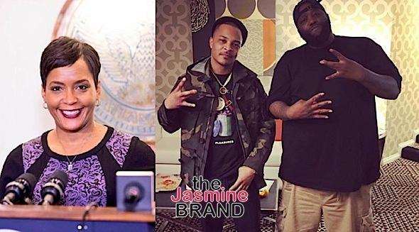 T.I., Killer Mike Join Atlanta Mayor Keisha Lance Bottoms Transition Team