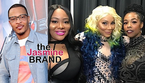 T.I. Cursed Out Tamar Braxton Over Khia Controversy