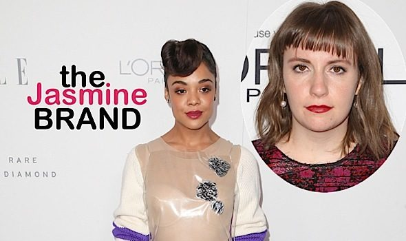 Ouch! Tessa Thompson Calls Out Lena Dunham: She Used Movement For Photo Op