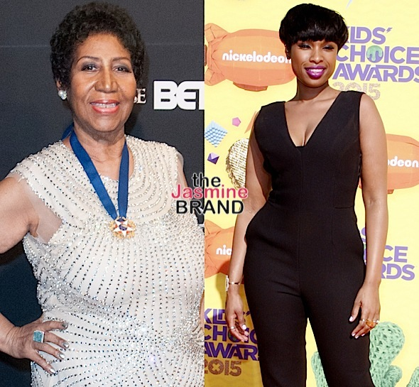 Jennifer Hudson On Set Filming Aretha Franklin Biopic [Photo]