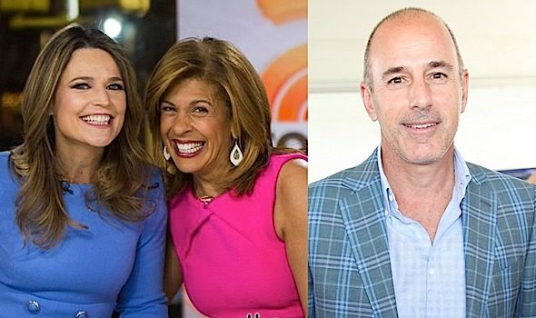 "Hoda Kotb Replaces Matt Lauer On ""TODAY"" Show"