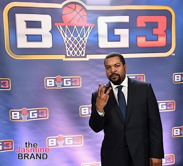 EXCLUSIVE – Ice Cube Demands $50 Mill Lawsuit Over Big3 Be Thrown Out: It's a publicity stunt!