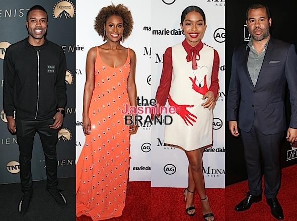 Tracee Ellis, Jeannie Mai, Kiersey Clemons, DeMario Jackson, Issa Rae, Yara Shahidi [Celebrity Stalking]