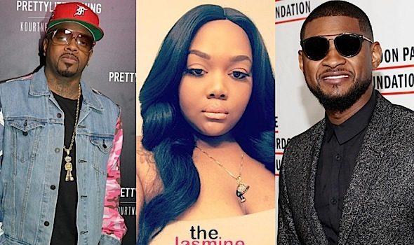 Jermaine Dupri Says Usher 'Did NOT Smash Fat Girl' Quantasia Sharpton + Quantasia Slams JD For Fat Shaming