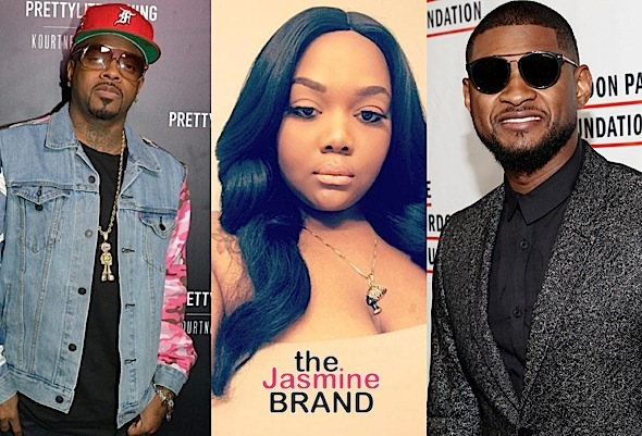 Jermaine Dupri Says Usher 'Did NOT Smash Fat Girl' Quantasia Sharpton + Quantasia Slams JD For Fat Shaming