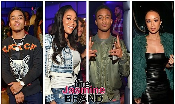 Justin Combs, Jessie Usher, Draya Michele, Mimi Faust Party in ATL [Photos]