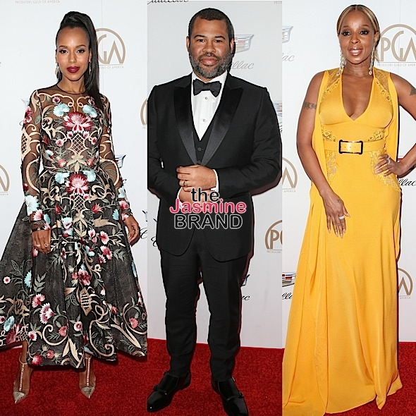 Ava DuVernay, Betty Gabrielle, Kerry Washington, Jordan Peele, Mary J. Blige [Celebrity Stalking]