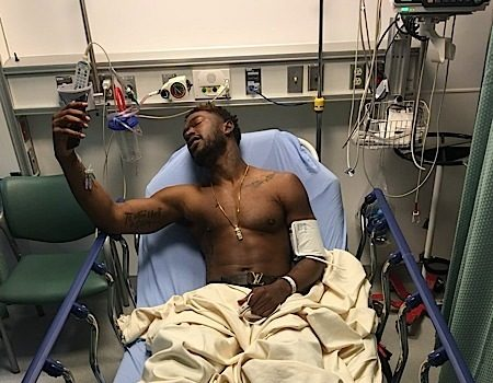 Kevin McCall Prays For Person Who Shot Him In The Foot