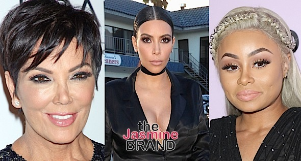 Blac Chyna's Lawsuit Against Kris Jenner & Kim Kardashian Tentatively Dismissed