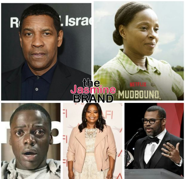 Oscar Nominations – Mary J. Blige, Common, Octavia Spencer, Denzel Washington, Jordan Peele, Daniel Kaluuya, Dee Reese, 'Get Out', 'Mudbound' Nominated + Complete List