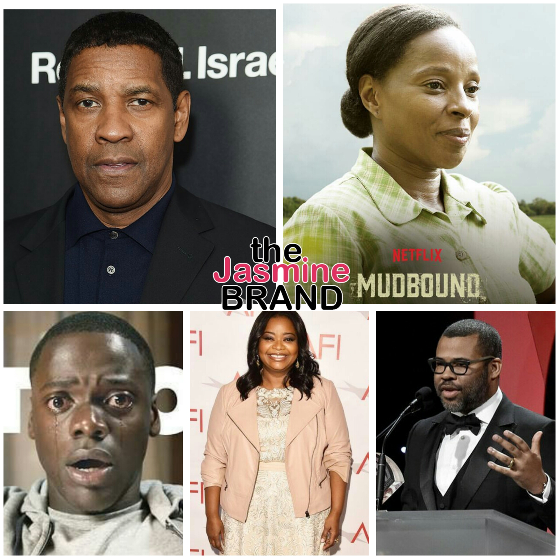 Oscar Nominations - Mary J. Blige, Octavia Spencer, Denzel Washington, Jordan Peele, Daniel Kaluuya, Dee Reese, 'Get Out', 'Mudbound' Nominated + Complete List