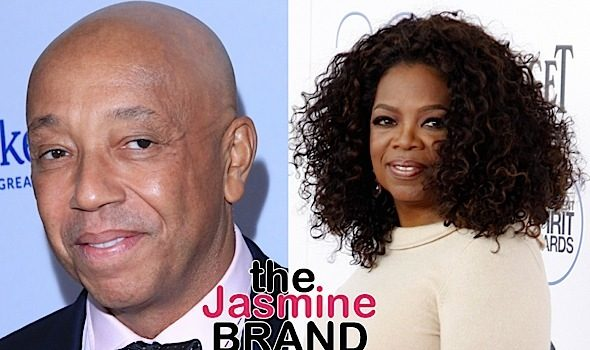 Oprah Insists Backing Out Of Docu 'Is NOT A Victory For Russell Simmons! I Can't Be Silenced By Him'