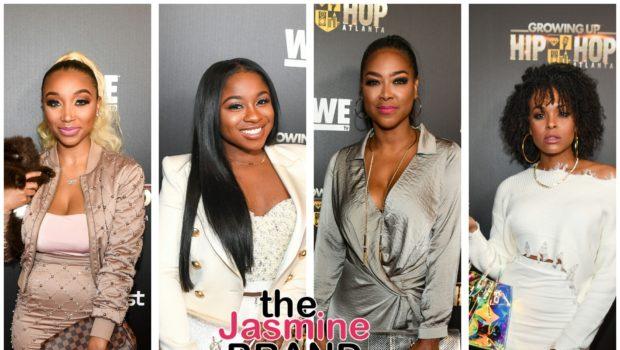"""Growing Up Hip Hop Atlanta"" Premiere: Da Brat, Trina & Towanda Braxton, Mama June, Jermaine Dupri Attend [Photos]"