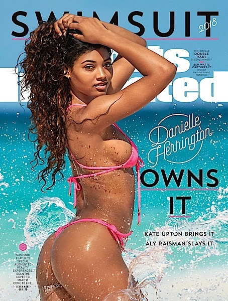 Danielle Herrington 3rd Black Woman To Cover Sports Illustrated Swimsuit