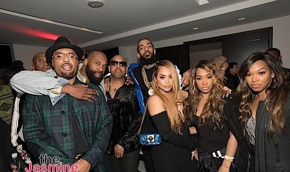 Nipsey Hussle Album Release Bash: Kevin Hart, NeYo, Lauren London, Malika Haqq, Big Boy Attend