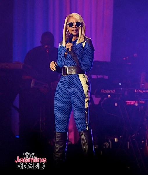 Mary J. Blige Responds To Heckler During Concert 'B**** You Shut The F*** Up' [VIDEO]