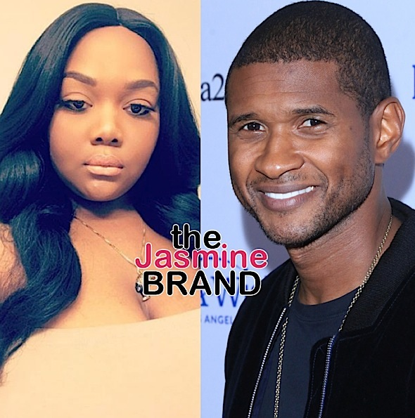 EXCLUSIVE: Usher Herpes Accuser Quantasia Sharpton Shut Down in Attempt to Question Woman Who Slept w/ Singer