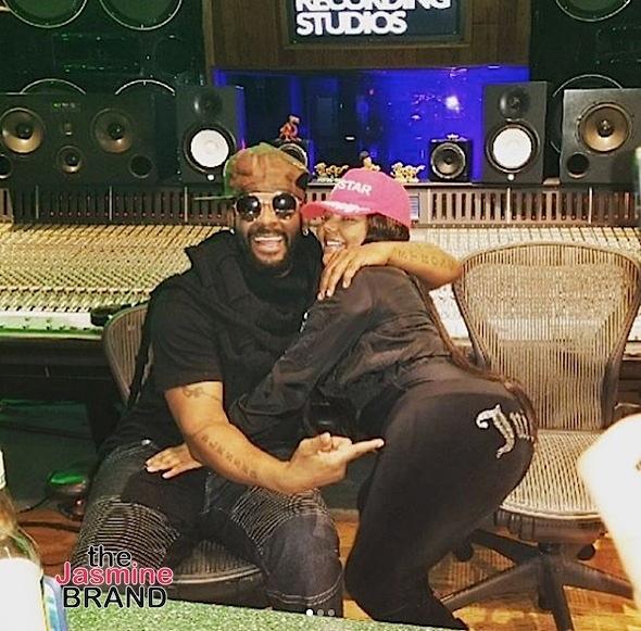 KeKe Goes Blonde + Lil Kim Hits Studio w/ R.Kelly