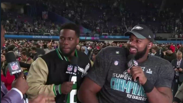 A Drunk Kevin Hart Says F**k On Live TV, Gets Denied By Security [VIDEO]