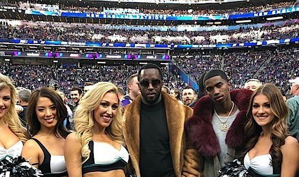 Celebs Spotted At Super Bowl: Kevin Hart, Issa Rae, Tiffany Haddish, J.Lo, A.Rod, Floyd Mayweather