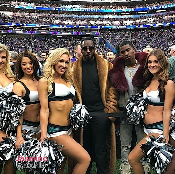 Celebs Spotted At Super Bowl: Kevin Hart, Issa Rae, Tiffany Haddish, J.Lo, A.Rod, Floyd Mayweather