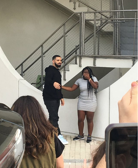 "Drake Gives College Student 50k Scholarship, Another 25k To High School + Shoots ""God's Plan"""