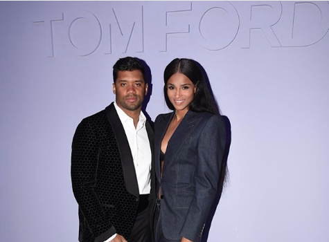 Russell Wilson Tells Ciara: You Are The Sexiest Woman On The Planet, You Are Bad To The Bone & I'm Glad To Take Care Of You