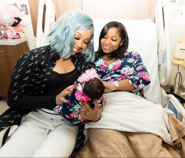 Toya Wright Debuts Newborn Daughter Reign [Photos]
