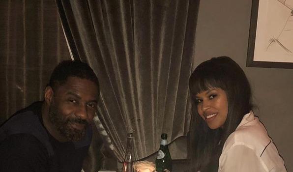 Idris Elba's Fiancée Pens Sweet Message After Proposal [Photo]