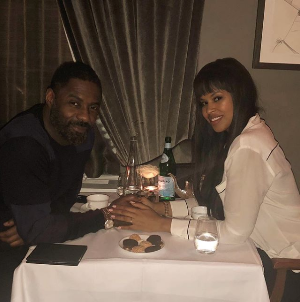 Idris Elba's Fiancée Pens Sweet Message After Proposal [Photo]
