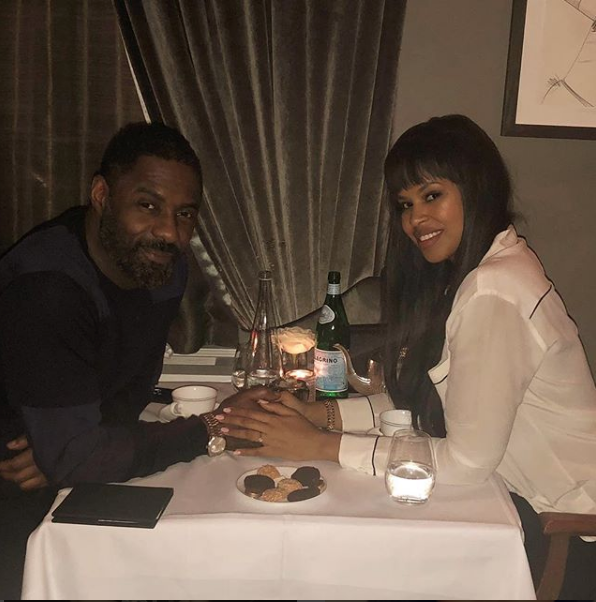 Idris Elba's Fiancee Pens Sweet Message After Proposal