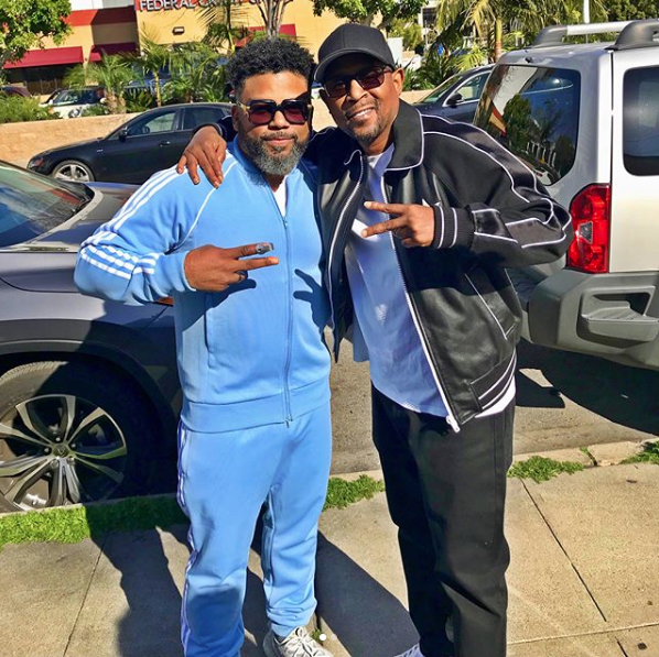 Martin Lawrence Reunites w/ Carl Payne [Photos]