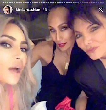 Kris Jenner Hosts Valentine's Day Dinner Party: Jada Pinkett-Smith, Boyfriend Corey Gamble, Kyle Richards + Rob, Kim & Khloe Kardashian Spotted