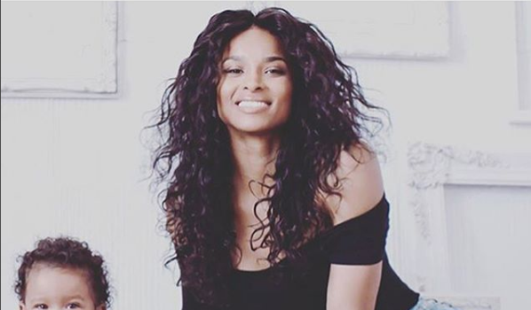 Ciara Debuts Daughter Sienna [VIDEO]