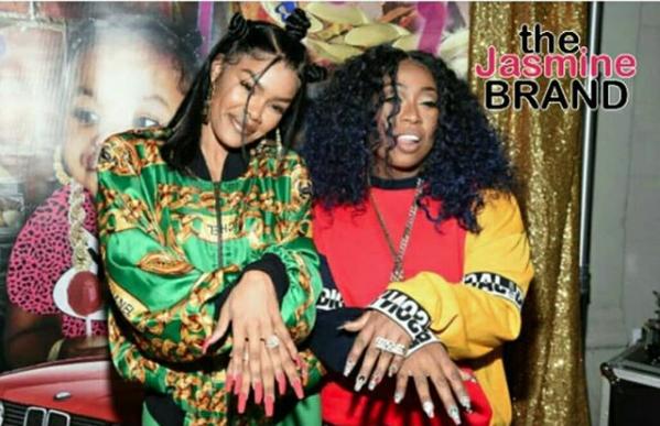 Teyana Taylor Celebrates Nail Shop Opening: Lil Kim, SWV, Donshea Hopkins, Missy Elliott Spotted