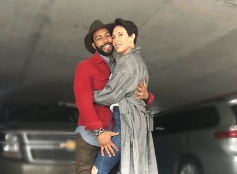 Omari Hardwick's Wife: I Know Some Have A Problem w/ Interracial Marriages