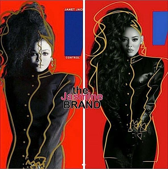 Angela Simmons Pays Homage to Beyonce, Janet Jackson, Diana Ross & Sade